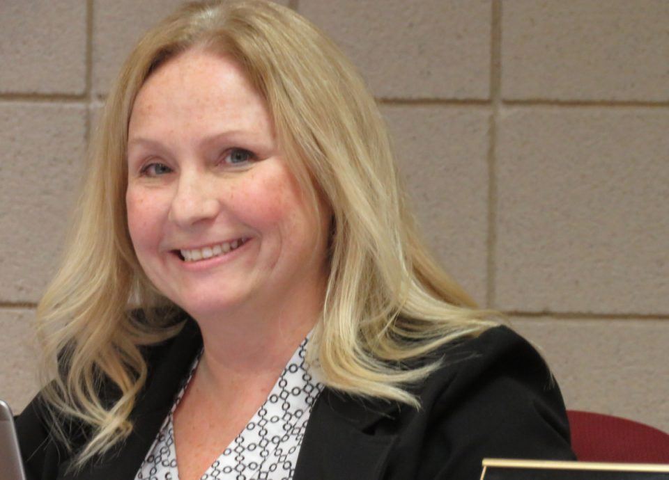 Annette Sturdy, city clerk for the city of St. Clair.