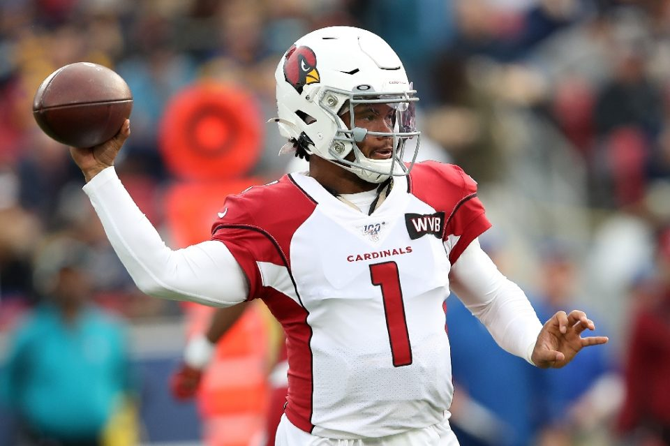 Kyler Murray, coming off a stellar rookie season for Arizona, should play a key role when the Cardinals play in this year's NFL regular-season game at Mexico City - Sean M. Haffey / ©AFP