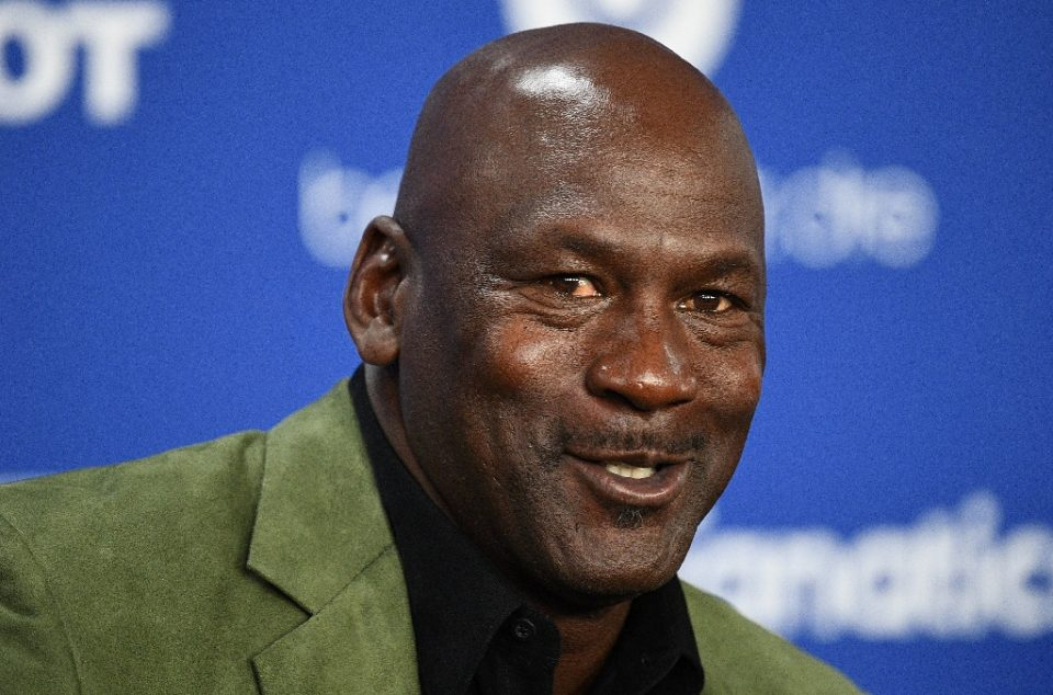 Retired NBA legend Michael Jordan and his dynasty years with the Chicago Bulls will be the subject of a 10-part documentary series that was to have debuted in June but will now launch in April - Anne-Christine POUJOULAT / ©AFP