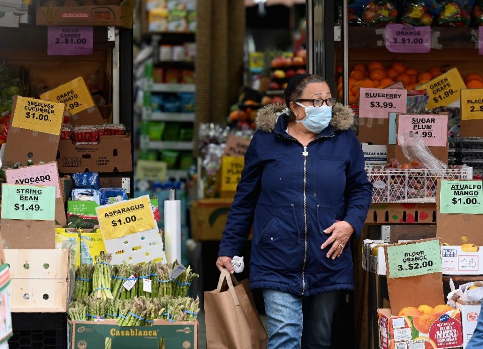 New York Governor Andrew Cuomo has ordered non-essential businesses to close and banned all gatherings, in an escalation of attempts to contain the deadly coronavirus pandemic - Angela Weiss / ©AFP