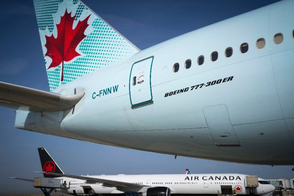 Air Canada has suspended most of its international flights due to the coronavirus - JOEL SAGET / ©AFP