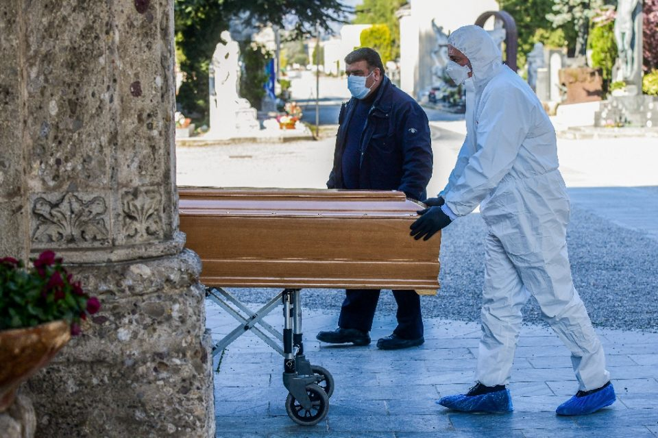 The worst case figure for COVID-19 deaths could be in the millions globally - Piero Cruciatti / ©AFP
