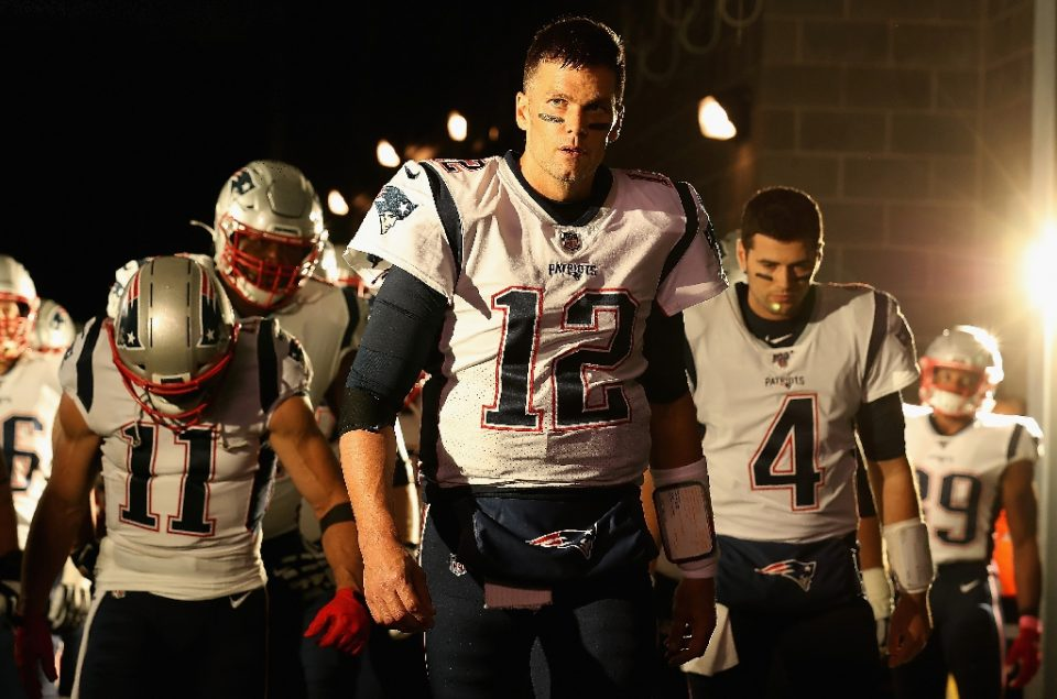 Quarterback Tom Brady earned six Super Bowl rings in his time with the New England Patriots - AL BELLO / ©AFP