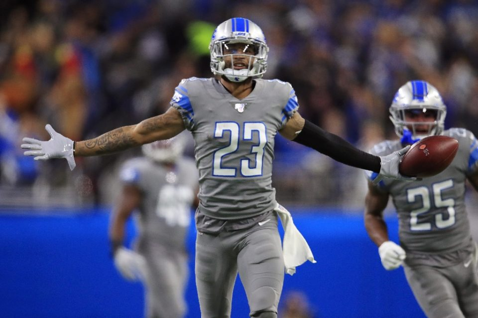 NFL cornerback Darius Slay, who is joining the Philadelphia Eagles will change his jersey number two 24 in tribute to the late NBA legend Kobe Bryant - Gregory Shamus / ©AFP