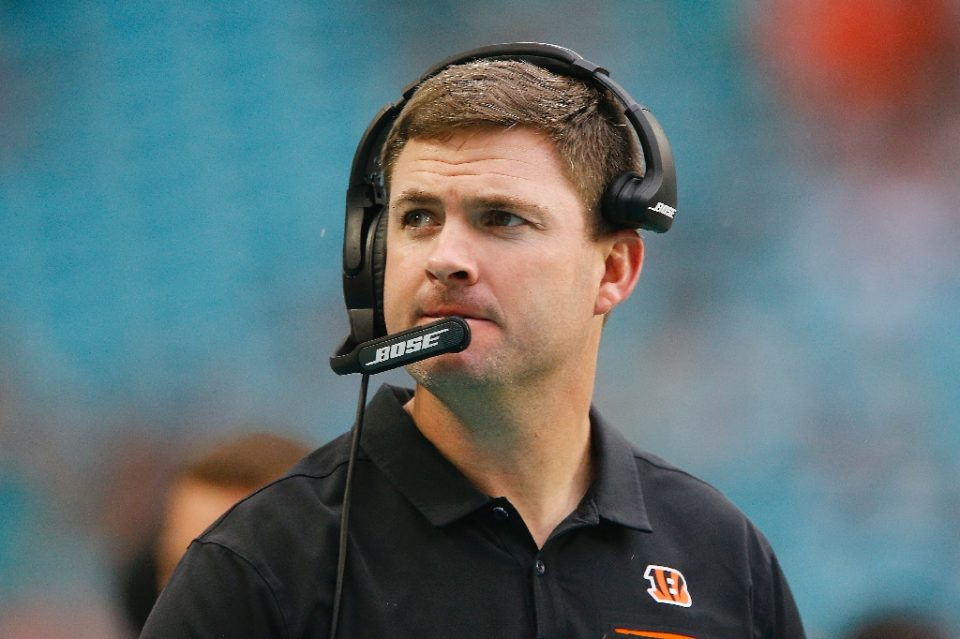 Cincinnati Bengals coach Taylor's club owns the first pick in next month's NFL Draft - Michael Reaves / ©AFP