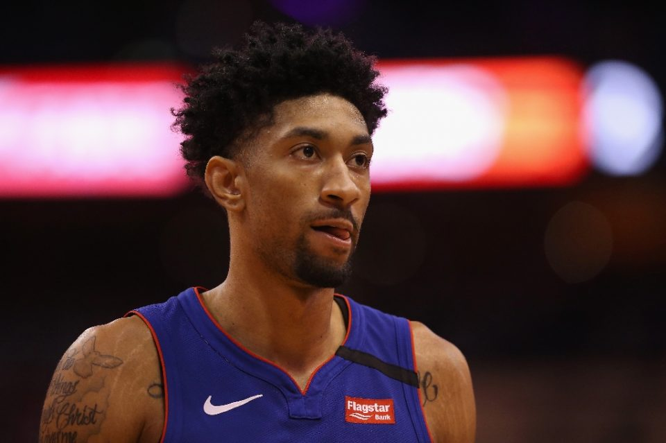 Detroit Pistons forward Christian Wood has been reportedly cleared after testing positive for coronavirus, the first known NBA player to do so - Christian Petersen / ©AFP