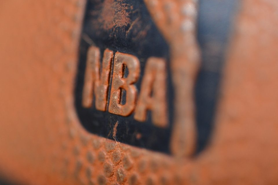 The NBA and its players union announced Thursday that a total of 25 players have tested positive for COVID-19, including nine of them from June 24-29 (AFP Photo/Garrett Ellwood)