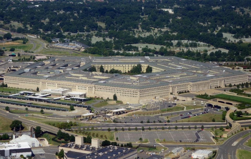 The Pentagon, pictured here from the air over Washington, DC in 2013, says it has successfully tested an unarmed prototype of a hypersonic missile, a potential game changer in modern warfare The US Defense Department announced on March 20, 2020, it has successfully tested an unarmed hypersonic missile, a weapon that could potentially overwhelm an adversary's defense systems. The Pentagon said a test missile flew at hypersonic speeds -- more than five times the speed of sound, or Mach 5 -- to a designated impact point. - SAUL LOEB / ©AFP