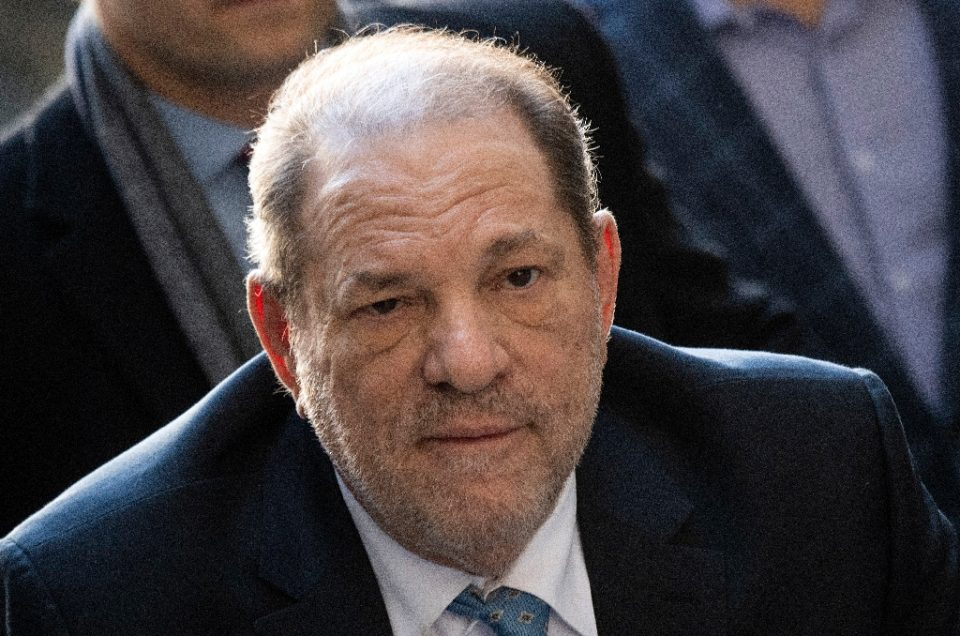 Disgraced Hollywood mogul Harvey Weinstein (pictured February 2020) is in prison in northern New York state after being sentenced to 23 years in jail for rape and sexual assault - Johannes EISELE / ©AFP