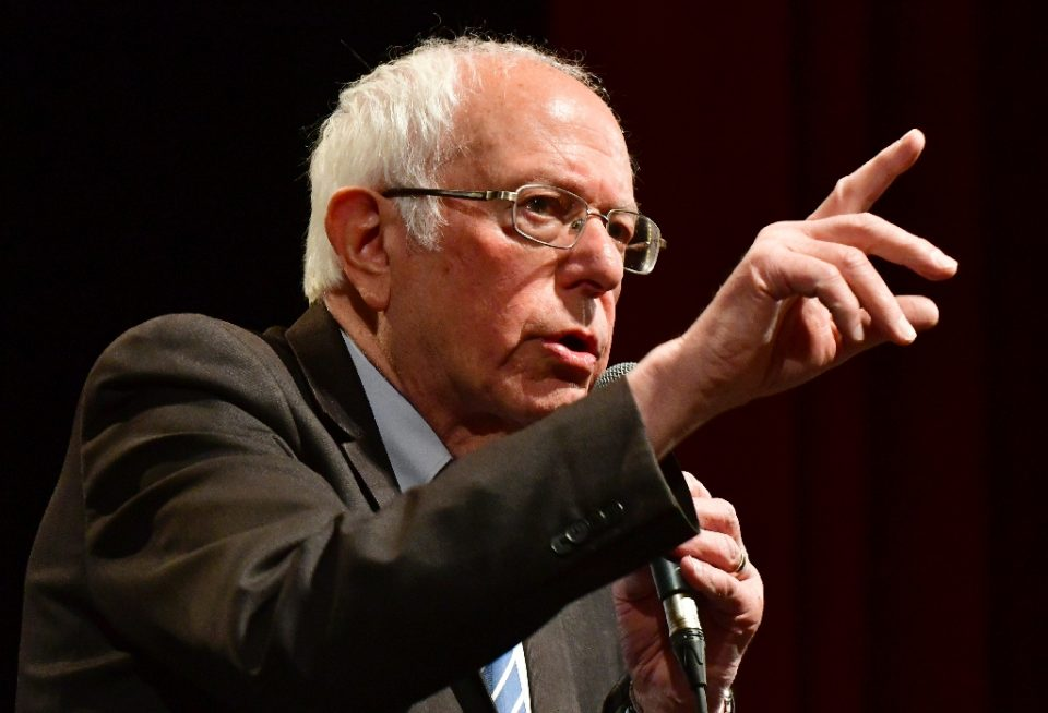 Bernie Sanders is under fresh pressure to bow out of the race for the Democratic White House nomination after losing the three latest primaries to Joe Biden - Tim VIZER / ©AFP