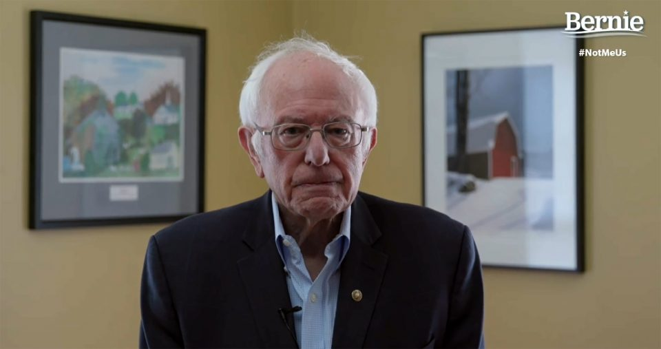 In this video still image from the Bernie Sanders Presidential Campaign, Sanders announces the suspension of his presidential campaign - - / ©AFP