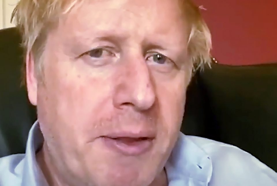 Boris Johnson has been in intensive care since Monday - - / ©AFP