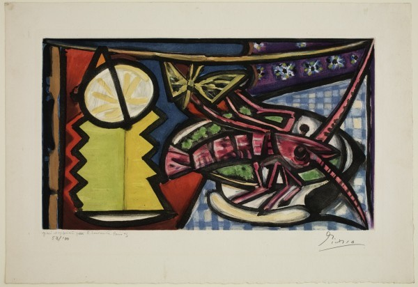 """""""Still Life with Lobster,"""" a 1943 work. Photo courtesy of the Detroit Institute of Art."""
