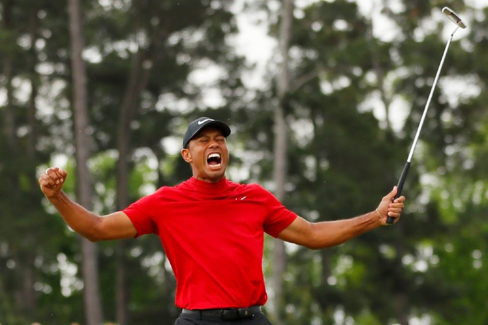 Tiger Woods says he would have been ready to defend his title at the Masters this week despite back pain that hampered his preparations for the now-postponed event at Augusta National - Kevin C. Cox / ©AFP
