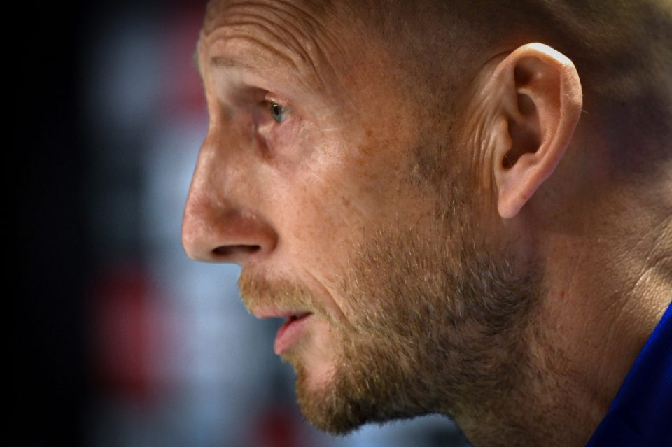 Former Netherlands and Manchester United defender Jaap Stam has been named the new head coach of Major League Soccer's FC Cincinnati - Andy Buchanan / ©AFP