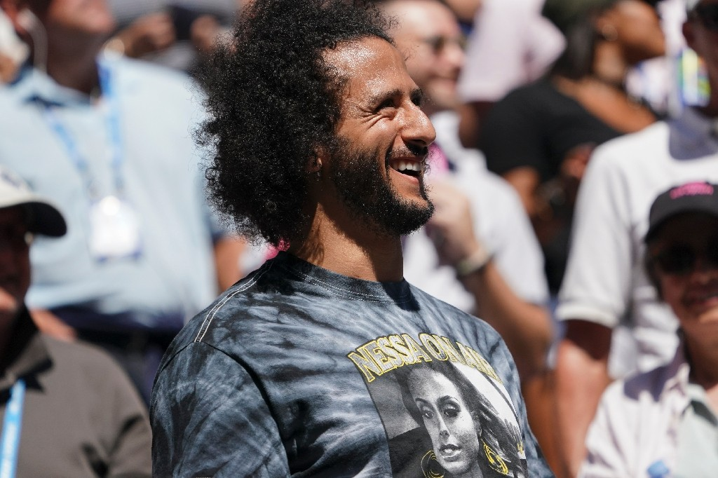 Former San Francisco 49ers quarterback Colin Kaepernick last played in the NFL in 2016 when he threw 16 touchdowns in 12 games - Kena Betancur / ©AFP