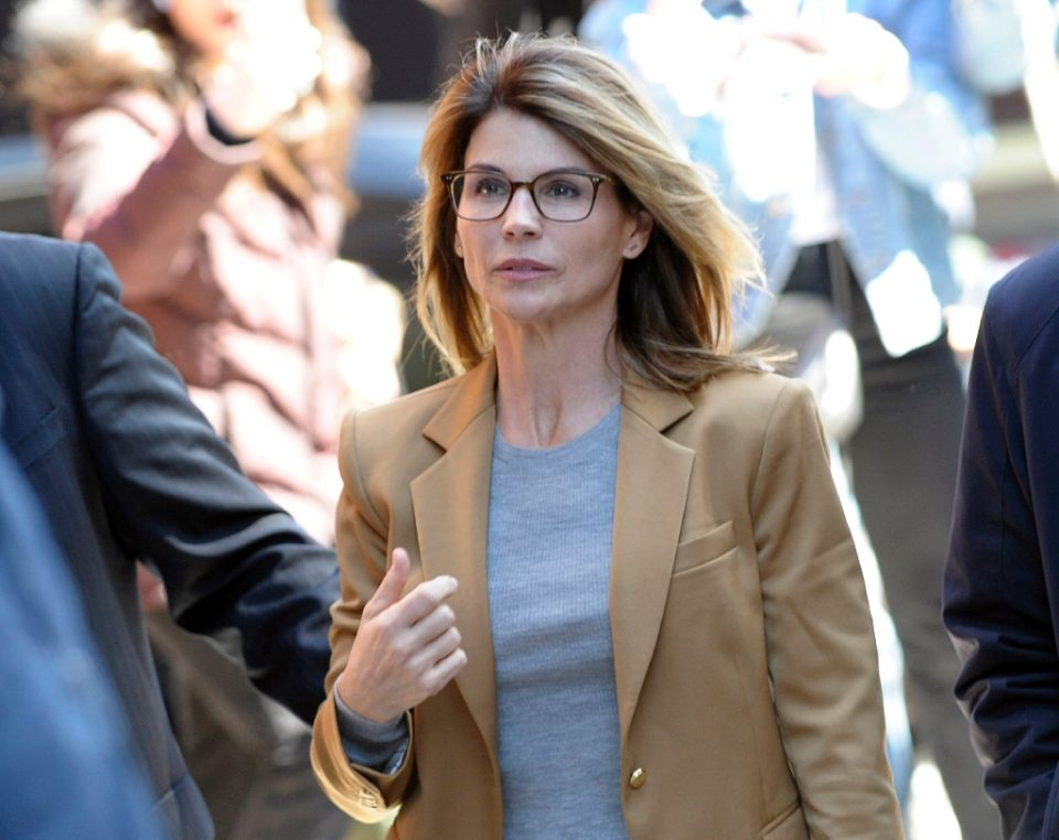 Actress Lori Loughlin, pictured in 2019, will serve two months in prison, with a $150,000 fine and two years of supervised release, with 100 hours of community service - Joseph Prezioso / ©AFP