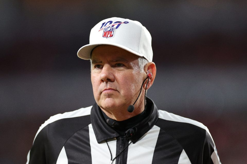 NFL referees such as Bill Vinovich, who worked last February's Super Bowl, could have some new rules to consider after a virtual meeting of NFL team owners next Thursday - Maddie Meyer / ©AFP