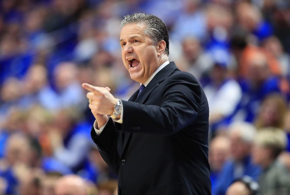 Calipari says he is disappointed the Wildcats won't play in London this year, partly because he was looking forward to meeting the Queen - ANDY LYONS / ©AFP