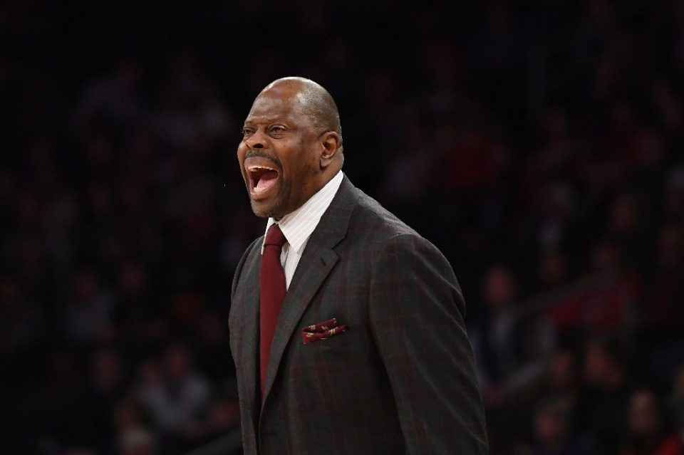 NBA legend Patrick Ewing revealed his two Olympic gold medals were stolen during a burglary at his home - Sarah Stier / ©AFP