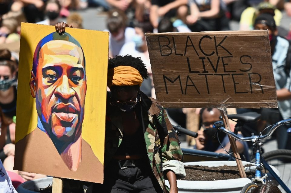 Anti-racism protests have swept across the United States following the death in May of George Floyd, an unarmed black man, in police custody (AFP Photo/Angela Weiss)