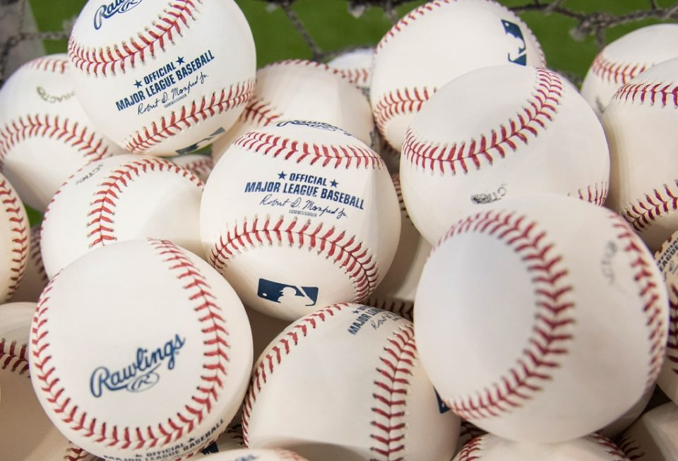 """An uptick in COVID-19 cases among players and team staff is reportedly complicating attempts by Major League Baseball and players to agree on a plan for launching a 2020 season - Mark Brown / ©AFP"""