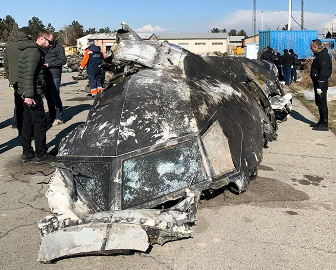Iran admitted that its forces accidentally shot down the Kiev-bound Boeing 737-800 aircraft, killing all 176 people on board, including 55 Canadians - STR / ©AFP