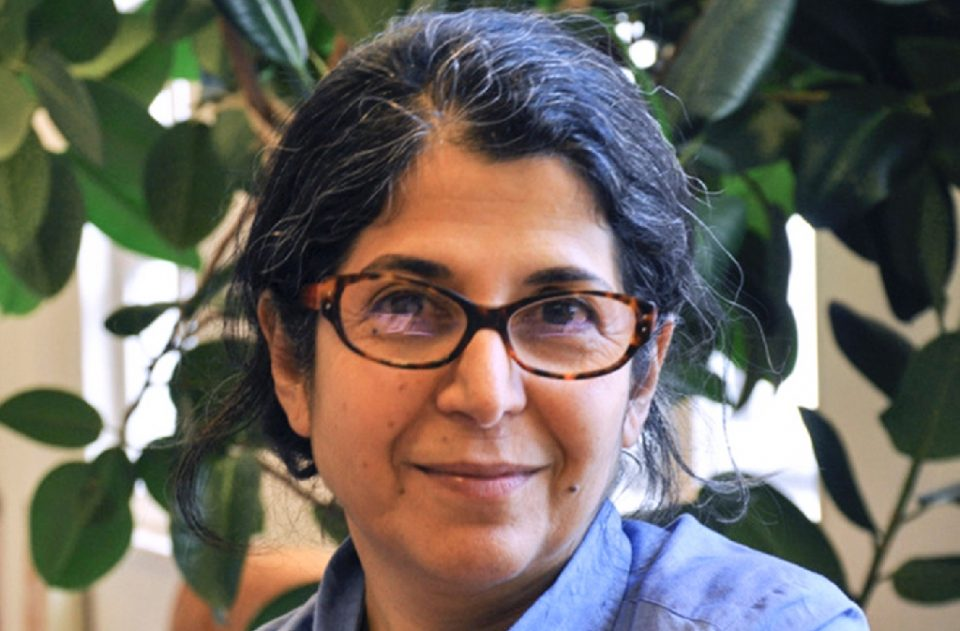 Iranian-French academic Fariba Adelkhah launched a hunger strike late last year; her five year sentence was upheld on Tuesday (AFP Photo/Thomas ARRIVE)