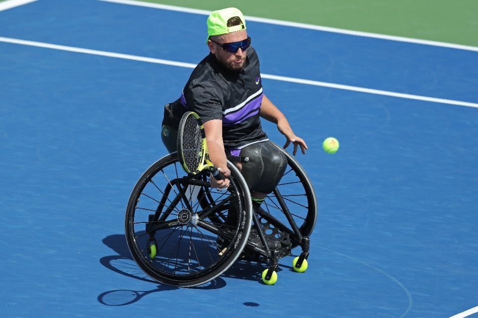 Australian Dylan Alcott, who complained of discrimination when US Open organizers called off the 2020 wheelchair event, might get the chance to compete yet after the US Tennis Association spoke with athletes and ITF wheelchair leadership on Friday - ELSA / ©AFP
