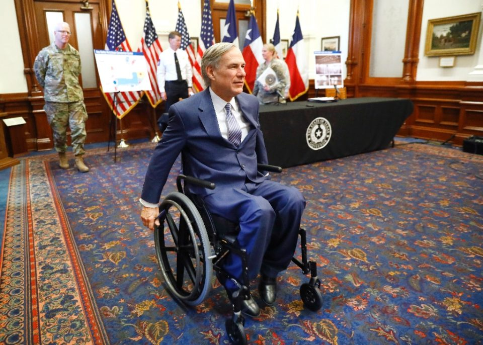 Texas Governor Greg Abbott has ordered bars to close in the state amid a surge in coronavirus cases - POOL / ©AFP