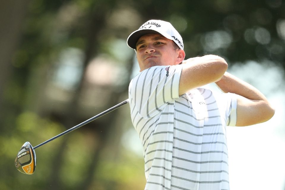 American Will Gordon, making only his eighth US PGA Tour start, fired a second-round eight-under par 62 Friday to seize the lead at the Travelers Championship - Maddie Meyer / ©AFP