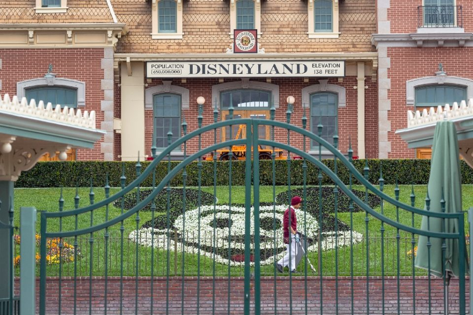 Disneyland in California was due to open on July 17, 2020 but has said its gates will now stay closed owing to the virus resurgence, without naming a new date (AFP Photo/DAVID MCNEW)