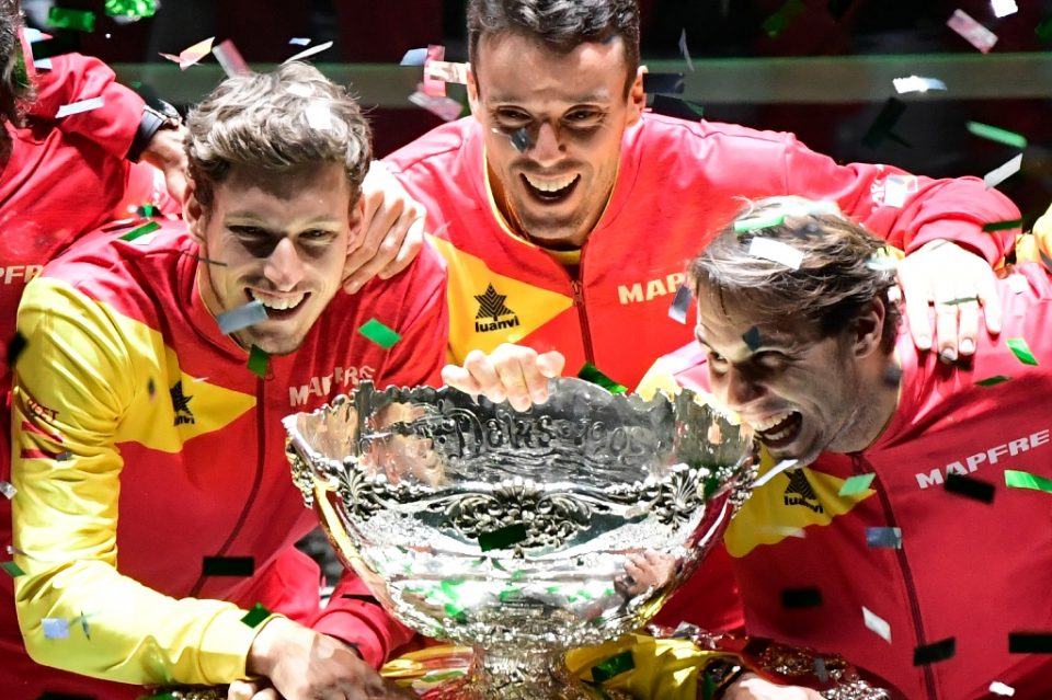 Rafael Nadal's Spain won the first edition of the new-look Davis Cup in Madrid last year - JAVIER SORIANO / ©AFP