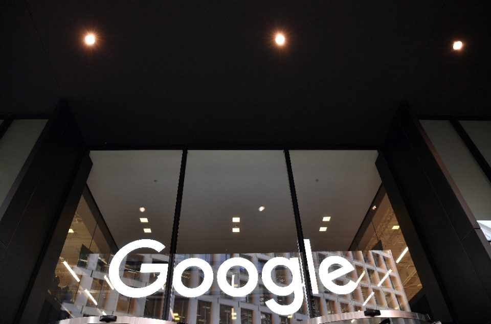 Google's parent company said its results were hurt by weakness in digital advertising during the global pandemic (AFP Photo/Ben STANSALL)