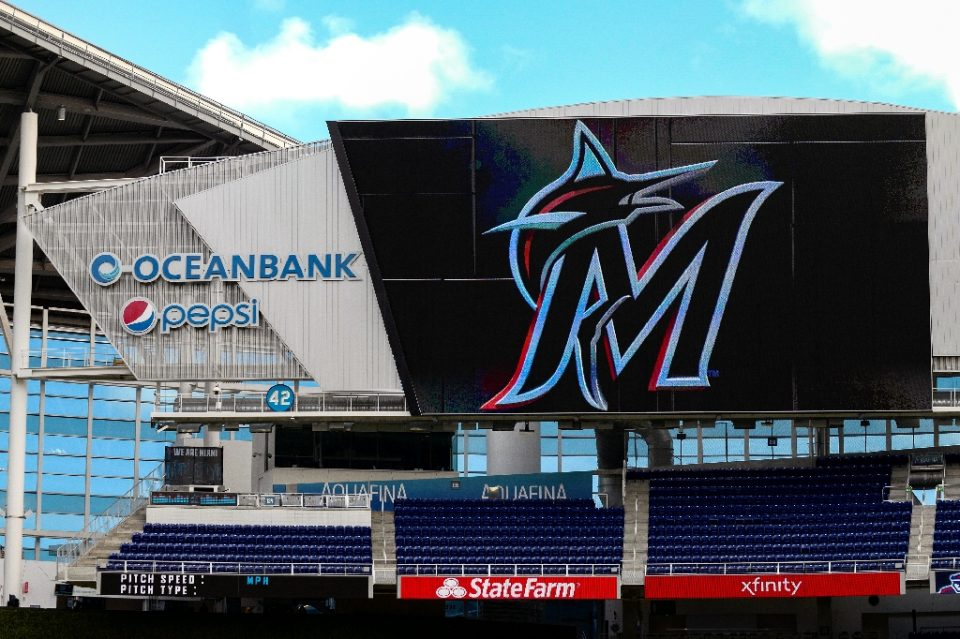 The Miami Marlins reportedly have had a 17th player test positive for COVID-19 (AFP Photo/Mark Brown)