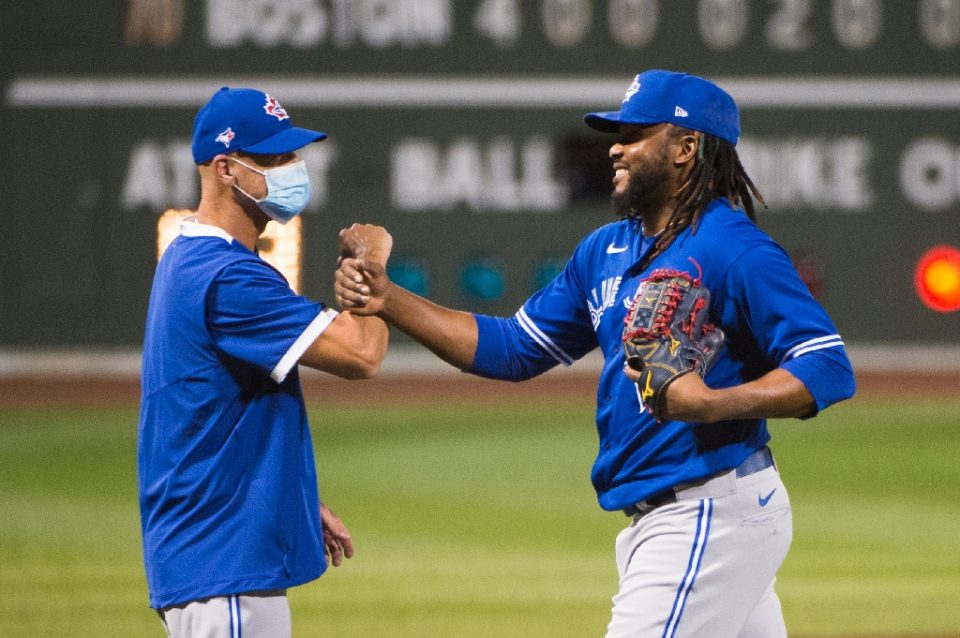 The Toronto Blue Jays will play home games in Buffalo, New York, at a minor-league ballpark for the 2020 Major League Baseball season, the team announced Friday, after being forced out of Canada due to government concerns over coronavirus safety (AFP Photo/Kathryn Riley)