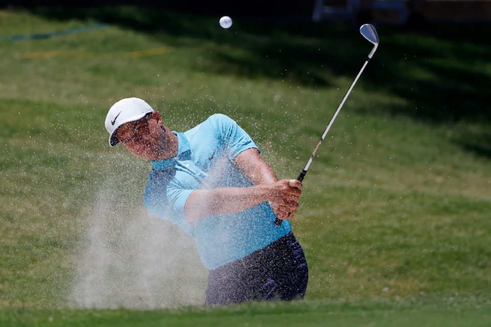 Cameron Champ of the United States was allowed to enter the Rocket Mortgage Classic that began Thursday after a virus policy change from the US PGA Tour involving asymptomatic players who test positive for COVID-19 (AFP Photo/TOM PENNINGTON)
