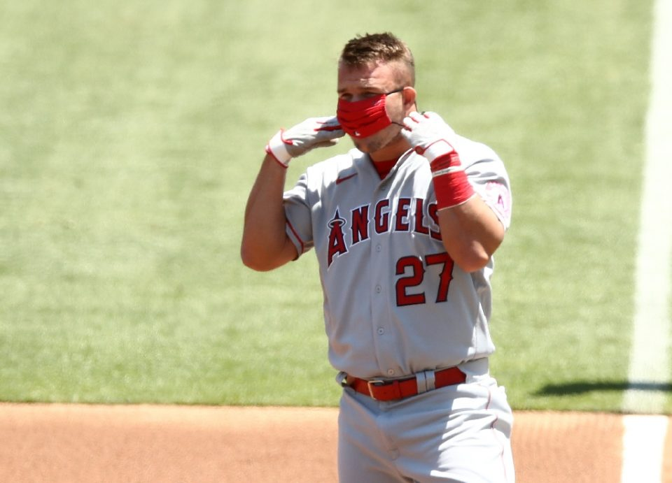 Los Angeles Angels outfielder Mike Trout will miss the next few days of the Major League Baseball season to attend the birth of his first child