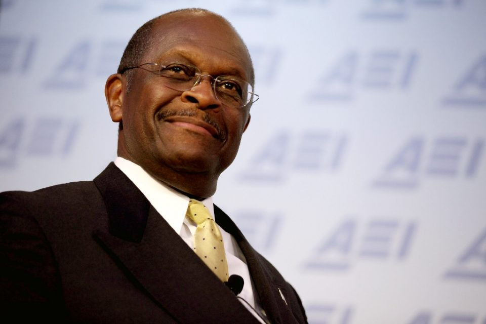 Former Republican presidential candidate Herman Cain has died after a battle with coronavirus (AFP Photo/CHIP SOMODEVILLA)
