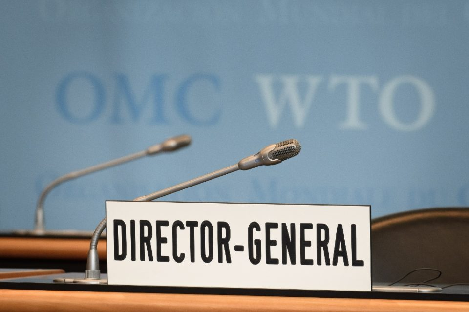 Who will become the WTO's interim director-general? One source says Washington is pushing for the US envoy to get the job (AFP Photo/Fabrice COFFRINI)