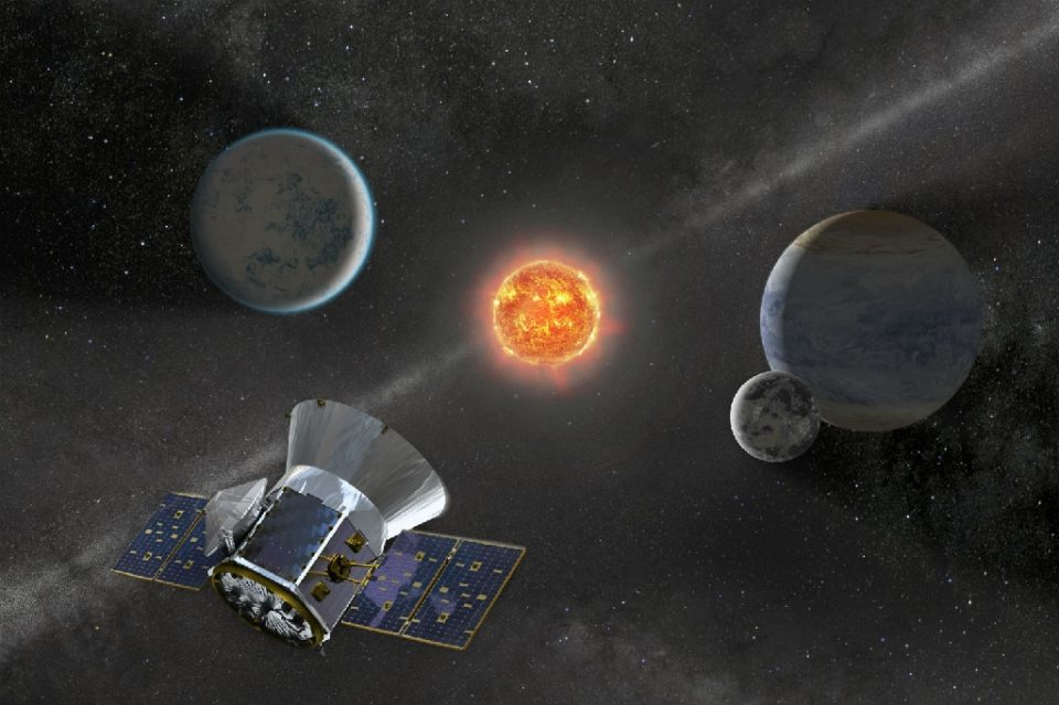 The exoplanet was detected sweeping past the white dwarf using NASA's planet hunter satellite TESS - Handout / ©AFP