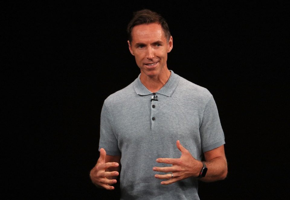 Two-time NBA Most Valuable Player Steve Nash says white privilege didn't play a role in him being named the new coach of the NBA's Brooklyn Nets despite no prior coaching experience - JUSTIN SULLIVAN / ©AFP