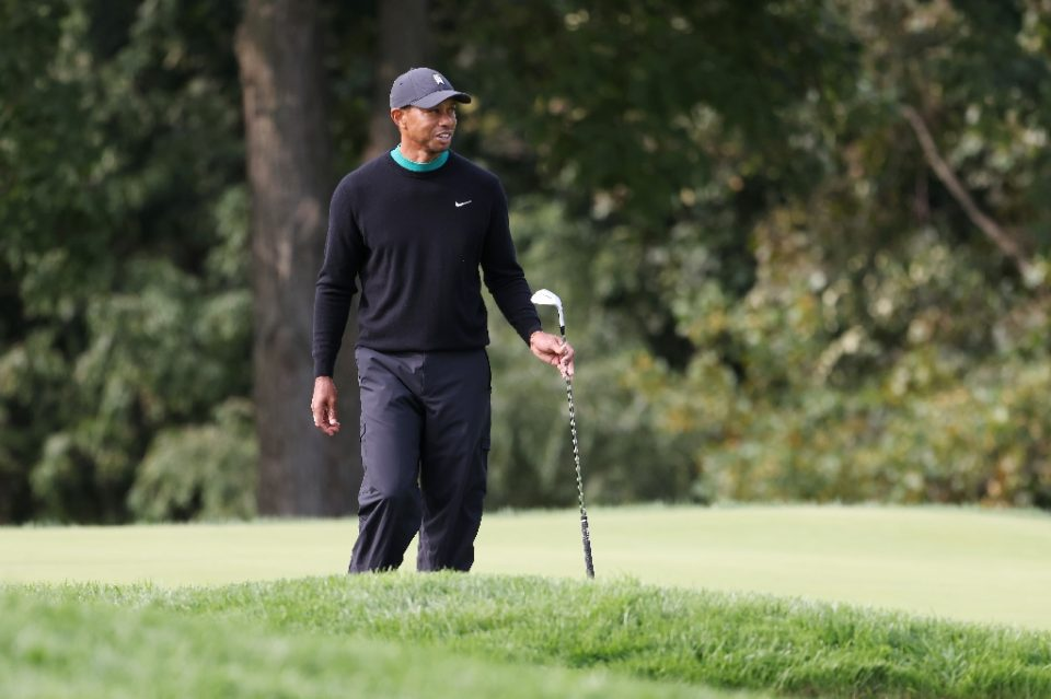 Tiger Woods says this week's US Open venue at Winged Foot is one of the three toughest championship courses in golf - JAMIE SQUIRE / ©AFP