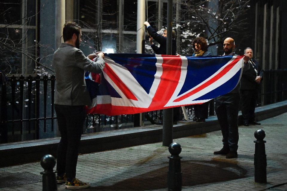 Britain formally left the EU on January 31 but the two sides have yet to agree on a post-Brexit trade deal - JOHN THYS / ©AFP