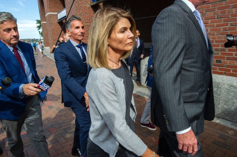 Actress Lori Loughlin and husband Mossimo Giannulli were sentenced by a federal judge in August - Joseph Prezioso / ©AFP