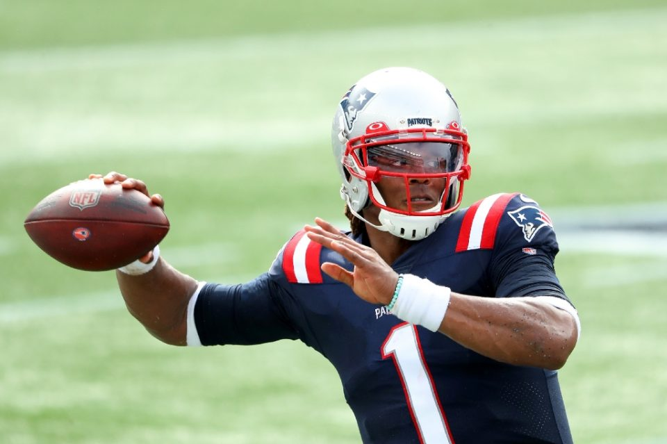 New England quarterback Cam Newton managed one day of practice after returning from a positive Covid-19 test before the NFL Patriots called off Friday's scheduled workout following a player and another person in the organization testing positive for the virus Friday - Maddie Meyer / ©AFP