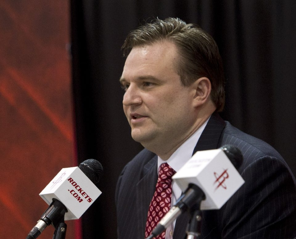 NBA Houston Rockets general manager Daryl Morey, whose tweet supporting Hong Kong freedom in 2019 led to a costly China split with the NBA, is stepping down after masterminding the Rockets basketball operations since 2007, according to multiple reports Thursday - Bob Levey / ©AFP