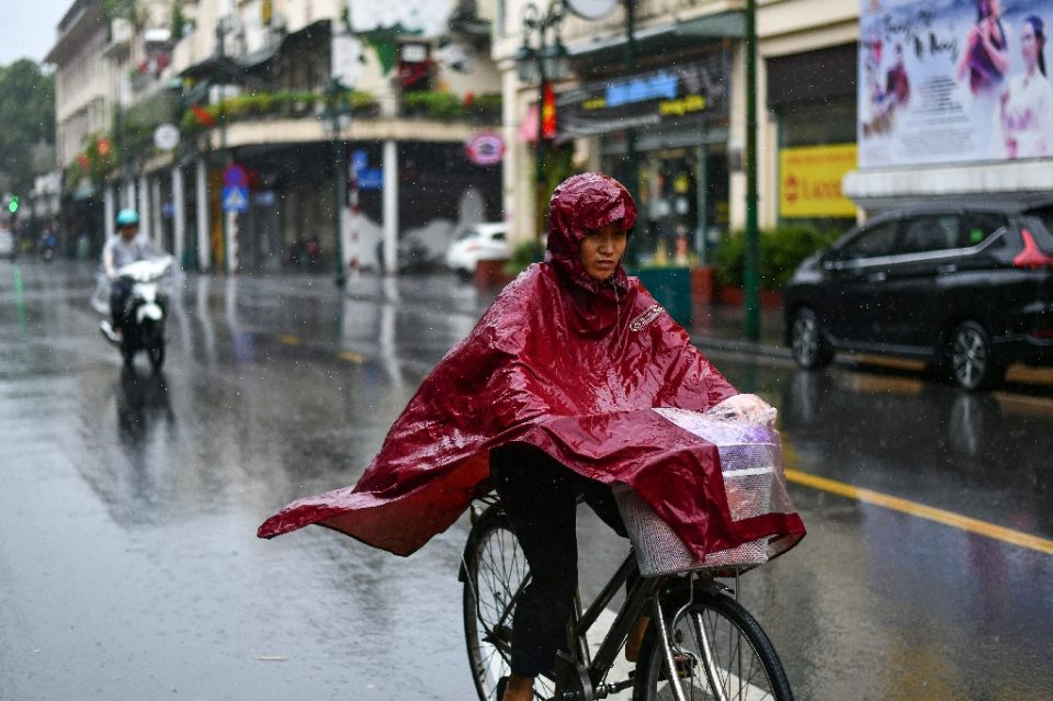 More rain was forecast for the coming days - Manan VATSYAYANA / ©AFP