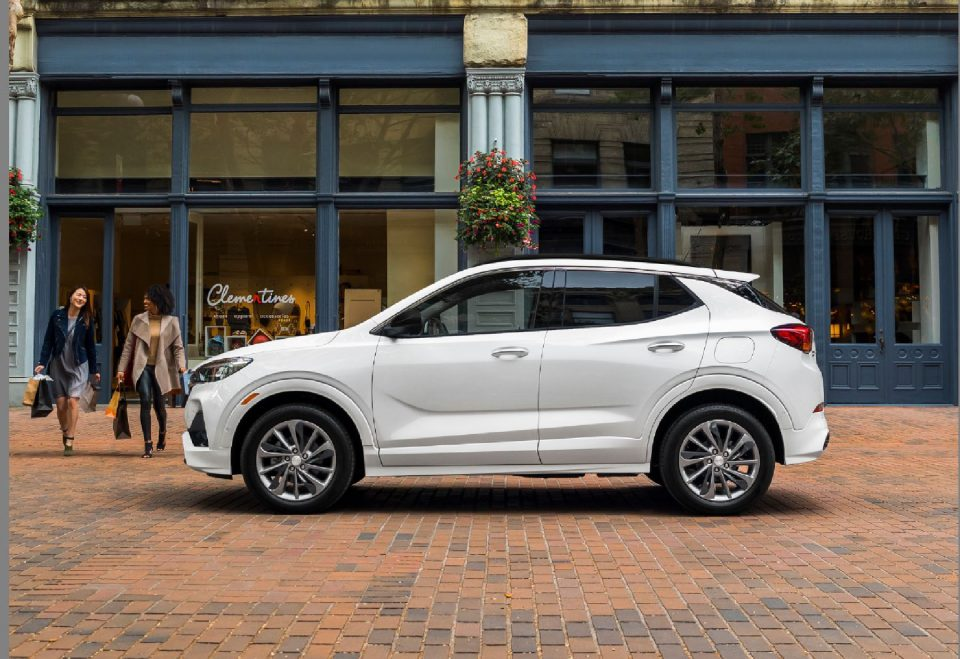 View the Buick Encore GX this week.