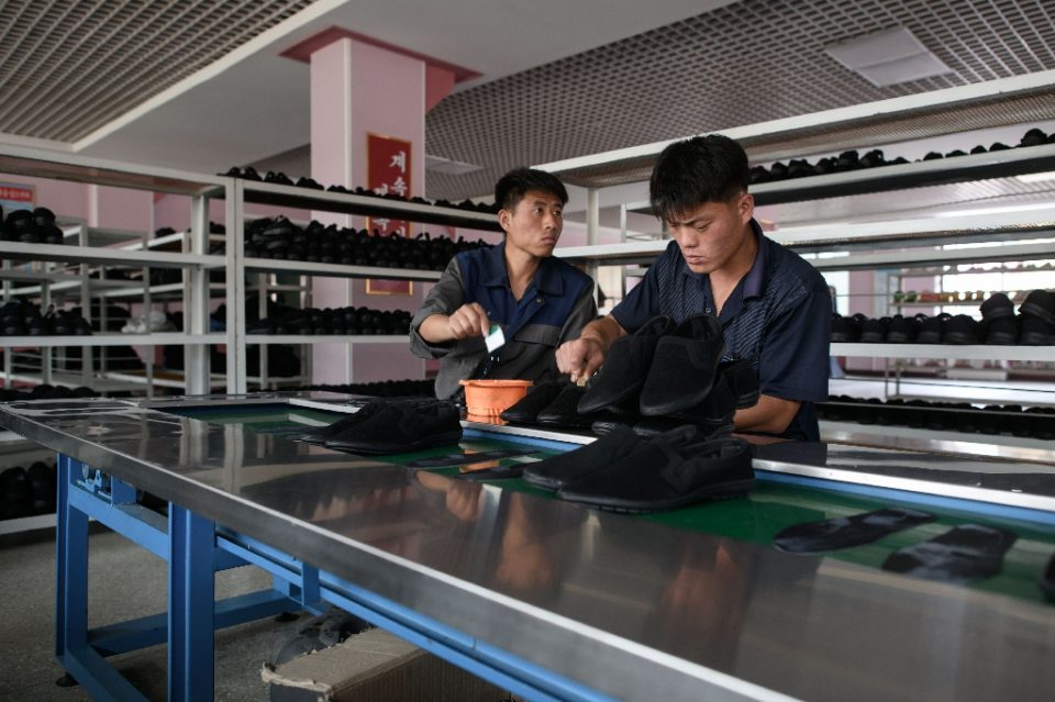 The United States alleges North Korea sends its workers abroad in forced labor schemes to earn foreign exchange for the state - Ed JONES / ©AFP